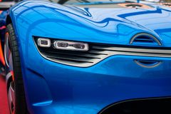 Concept car Renault Alpine A110-50 Royalty Free Stock Images