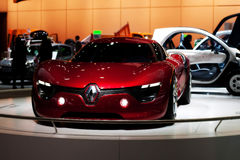 Concept car Renault Dezir at Bruxelles auto salon Stock Image