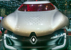 Concept car at the Renault stand at the Geneva International Motor Show Stock Photo