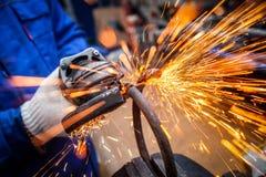 The concept of car repair and car repair shop stock images