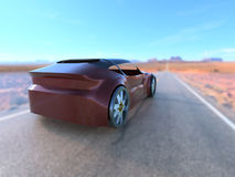 Concept car 3 Royalty Free Stock Photo