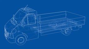 Concept car. Vector Stock Image