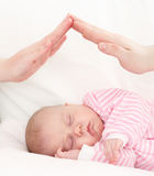 Concept of care of children. Stock Image