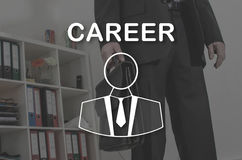 Concept of career Stock Image