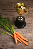 Concept of carrot rewards for achieving goals - Series 2 Stock Image