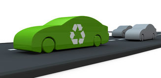 Concept of cars and pollution Stock Photography