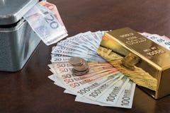 Concept of cash money Stock Image