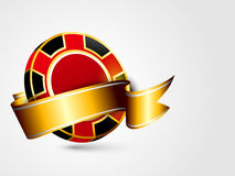 Concept of casino chip. Stock Photos