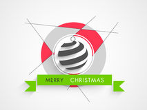 Concept of celebrating Merry Christmas. Stock Image
