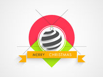 Concept of celebrating Merry Christmas. Stock Images