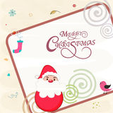 Concept of celebrating Merry Christmas festival. Stock Photos