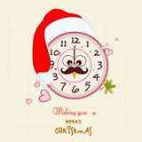 Concept of celebrating Merry Christmas. Royalty Free Stock Photography