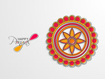 Concept of celebrating Pongal festival. Royalty Free Stock Image