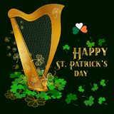 Concept of celebration St Patricks day Stock Images