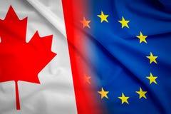 Concept CETA photo stock