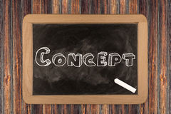Concept - chalkboard Stock Photo