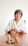 Concept cher de médicament Images libres de droits