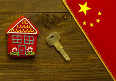 Concept of Chinese house Royalty Free Stock Photography