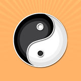 Concept of Chinese with symbol. Royalty Free Stock Photography