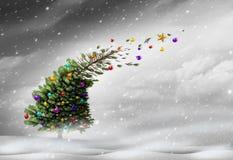 Concept Of Christmas Holiday Stress Stock Photos