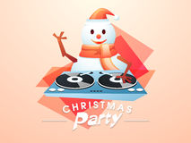 Concept of Christmas party night celebrations. Royalty Free Stock Photos