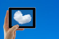 Concept for cloud computing Stock Image