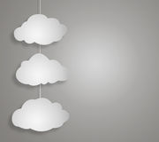 Concept cloud Royalty Free Stock Images