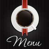 The Concept of Coffeehouse Menu. Vector. Illustration Stock Photography