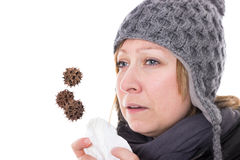 Concept colds Stock Images