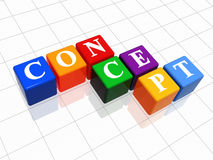 Concept in colour 2 Royalty Free Stock Photos