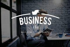 Concept commercial d'entreprise d'entreprise constituée en société d'affaires Photos libres de droits