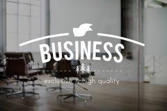 Concept commercial d'entreprise d'entreprise constituée en société d'affaires images libres de droits