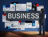 Concept commercial d'entreprise d'entreprise constituée en société d'affaires Images stock
