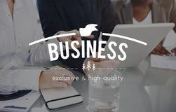 Concept commercial d'entreprise d'entreprise constituée en société d'affaires Photo stock