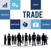 Concept commercial de finances de comptabilité d'économie Photo stock