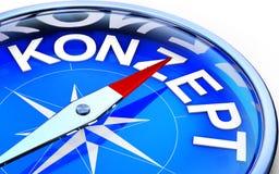 Concept compass Stock Photos