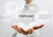 Concept For Compliance For Services Stock Image