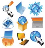 Concept for computer business Stock Images