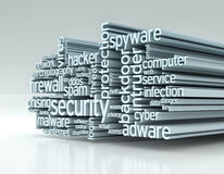 Concept of computer security Stock Photography