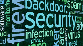 Concept of computer security Stock Photo