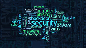Concept of computer security Royalty Free Stock Images
