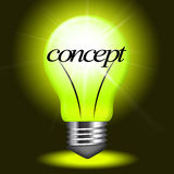 Concept Concepts Indicates Notion Think And Theory. Concepts Concept Showing Innovation Conceptualization And Thoughts Stock Image