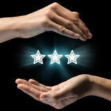 Concept of concern for  rankings. Stock Photography