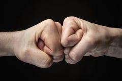 Concept confrontatie, de concurrentie enz. royalty-vrije stock fotografie