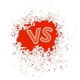 Concept of Confrontation Final Fighting. Versus VS Letters Fight Background. Concept of Confrontation, Together, Standoff, Final Fighting. Versus VS Letters Royalty Free Stock Photo