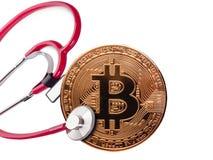 Concept, contrôle de santé financier images libres de droits