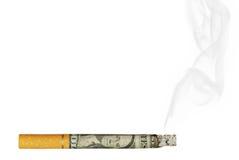 Concept contre le tabac Photographie stock libre de droits