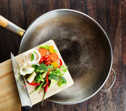 Concept of cooking Royalty Free Stock Images