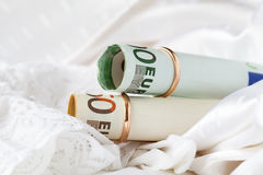Concept of cost Wedding ceremony Royalty Free Stock Image