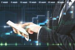 Concept courant et de finances Photos stock